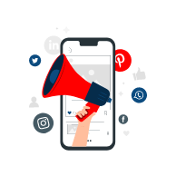mobile-with-social-media-icons